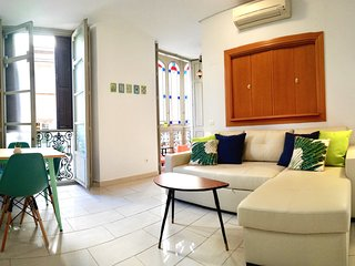 Apartment 1 bedroom with balconies. Malaga Centre