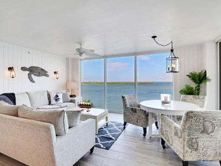 EXQUISITE, Newly Remodeled & Listed! Gorgeous 5th Floor Bay View, No Resort Fee,