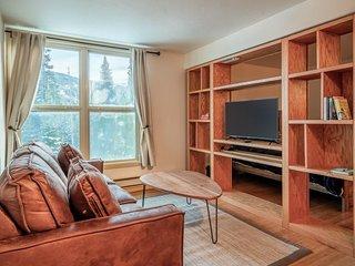 Studio condo with entertainment and mountain views -  close to ski lifts!