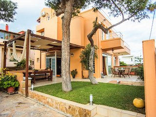 Luxury villa SEA AND WALES overlooking the sea just 80m. from the sandy beach.