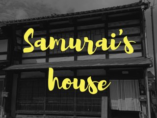 Opning sale'half price'Japanese antique House