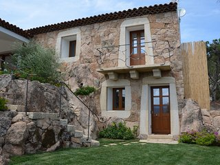 Villa La Mendula in North East of Sardinia with private pool and great barbecue
