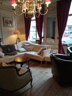 cosy salon in  Louis XVI style