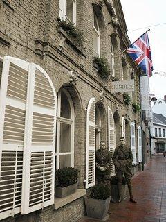 British Officers Club during World War I