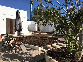 Casa do Vimal is a house in an area full of orange trees and win yards .