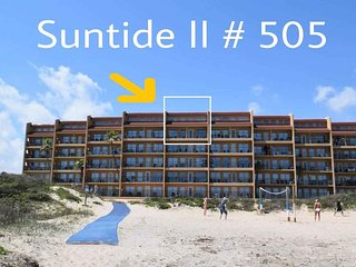 Suntide II 505 - Top Floor Condo w/ Vaulted Ceilings, Private Balcony