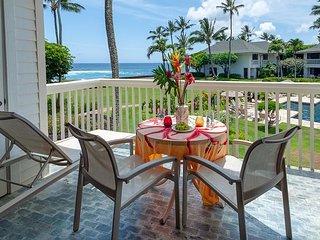 Poipu Kapili 46 - ocean view, air-conditioned, 7min walk to beach!