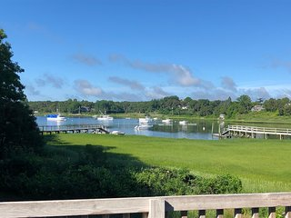 Chatham Waterfront home with Dock on Ryders Cove; 036-CS