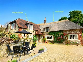 LITTLE FORGE, Thatched Cottage, Sleeps 5, village location, parking, West