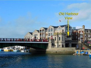 OLD HARBOUR VIEW,  Harbour views, close to town and beach, Weymouth