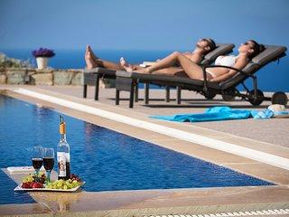 Villa Aspa elegante, 8-10 personnes, 4 chambres a coucher, piscine privee.