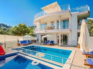 Luxury  villa in Islamlar / kalkan, sleeps12, 169