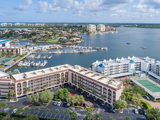 Wow...Enjoy Stunning Bay Views from this 2 Bedroom Condo!
