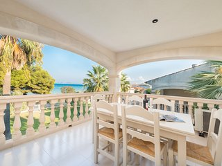 Apartamento vacacional Sun of the Bay 2-C, Wifi, vistas mar y Playa de Alcudia