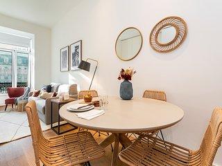 Graceful design studio with romantic view