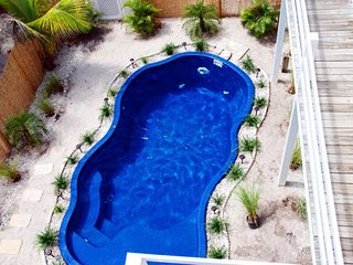 The Little Oasis North Captiva FL heated pool/hot tub/crow's nest/steps to beach