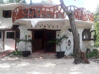 Eco villa with private cenotes.