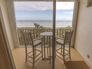 Completely Renovated ~ Beautiful Oceanfront Condo ~ Heated Pool!!!