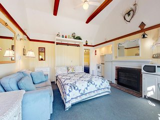 Ocean view cottage w/ fireplace & shared BBQ area - right on Parker River Beach!