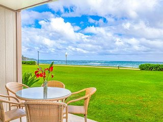 PONO KAI B109, OCEANFRONT, WALK TO TOWN, BEACH & BIKE PATH, SUNRISE VIEW