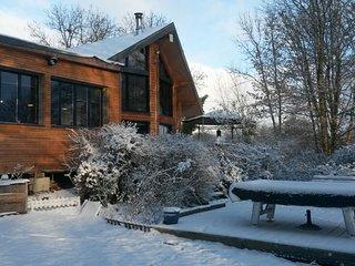 Chambre d'hôte avec sauna / table d' hôte dans maison bio climatique