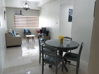 Two Bedroom Flat 1201 near Ayala with Gazebo on Top