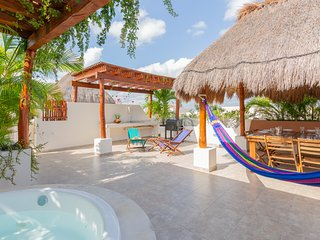 Incredible Secret Garden Oasis - 3BR Penthouse at Aldea Zama, Tulum