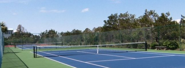 Tennis anyone? NO extra fee to play! Included!