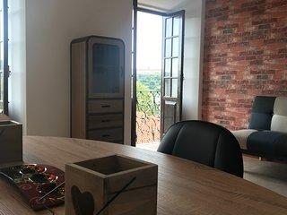 Vista Mondego , apartamento T1 com vista panorâmica sobre o rio Mondego