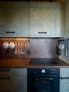 The kitchen is fully equipped ready for your cooking sessions