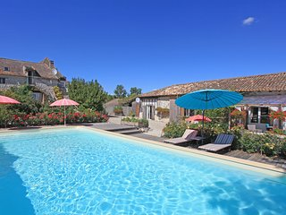 Luxurious retreat in rural southwest French countryside with private heated pool