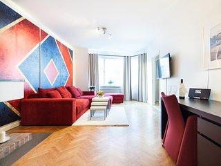 (C) One bedroom apartment with balcony