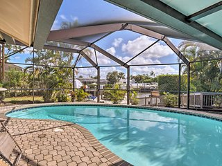 Canalfront Marco Island Home w/Heated Pool & Dock!