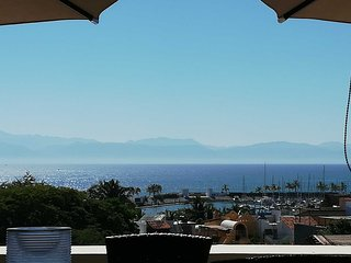 Stunning 2 Bedroom penthouse, View of Banderas Bay, Close to Beach, Pool