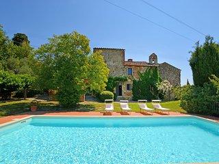 6 bedroom Villa in Fattoria Spedaletto, Tuscany, Italy : ref 5517068