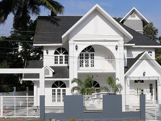 Beautiful Victorian House in Ammancherry Kottayam