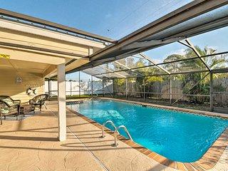 NEW! Spacious Sarasota House w/Screened Lanai+Pool