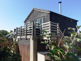 The Signal Box Ellingham: a cosy retreat