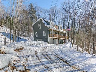 3 BR, 3 BA Home w/Game Room. Close to Skiing & Snowmobiling!