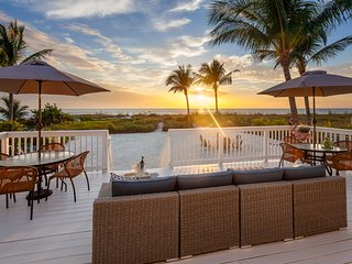 Stunning Direct Beachfront With Pool, Guest House & Private Beach