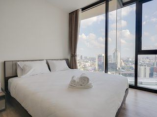 Lovely 1bed w/Amazing Views in The Line Jatujak-Mochit Condominium