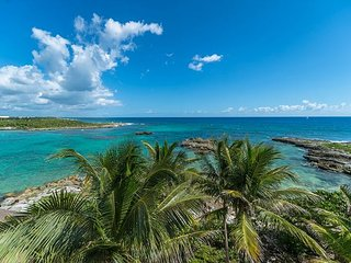 Beautiful and spacious lagoon front home with great views of the Caribbean