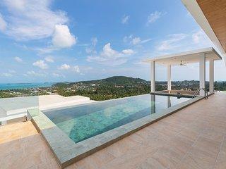 Villa Blue Munii - Stunning Bophut Ocean View
