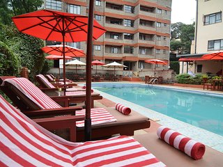 PrideInn Lantana furnished suites are located along East Church Road.
