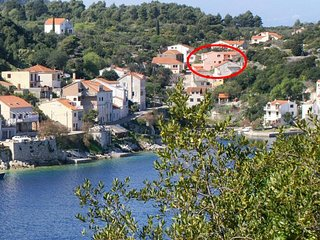 One bedroom apartment Racisce (Korcula) (A-4359-a)