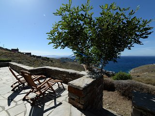 Original stone built villa with a great sea view in the area of Otzia - Akrotiri