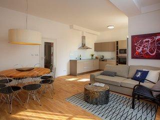 Three-Bedroom Balcony Apartment