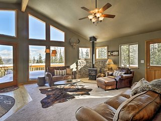 NEW-Beautiful Fairplay Cabin w/Mt Silverheels View