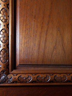 Upstairs Door Detail