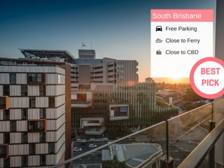 South BNE 1 Bed Parking Pool Gym in Mater QSB218